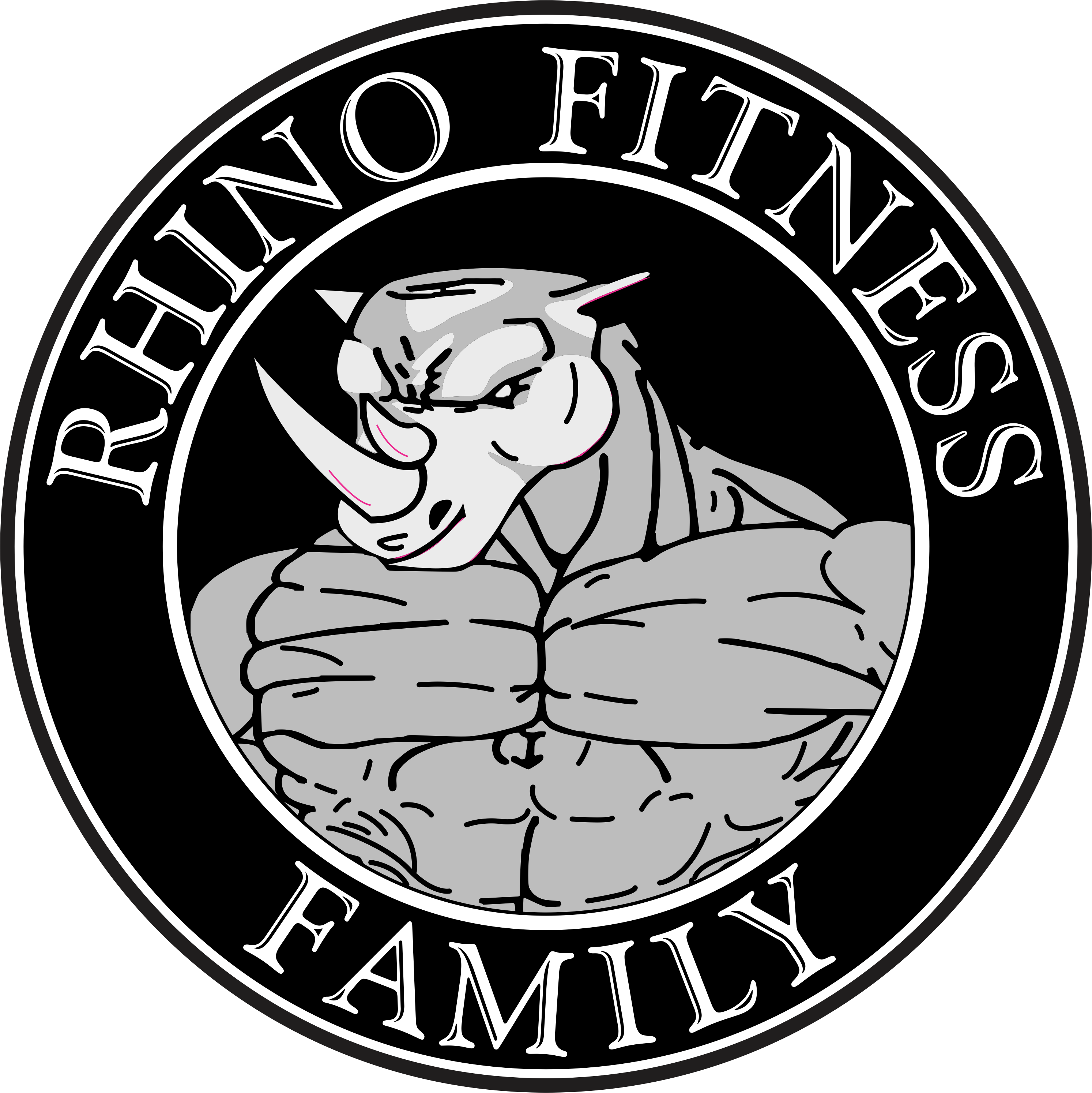 This is a picture of the Rhino Fitness logo.